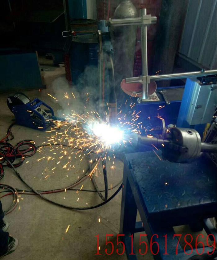 煤截齿、旋挖截齿二保焊丝堆焊机床