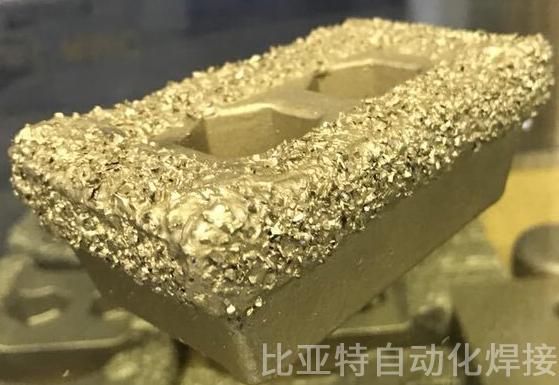 压块合金颗粒焊接设备