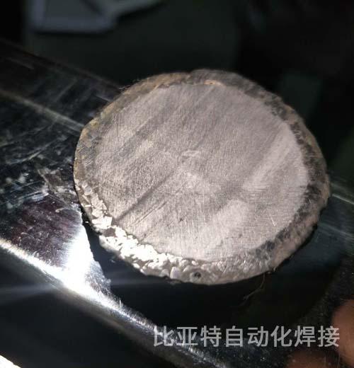 碳化钨合金颗粒焊接横切图
