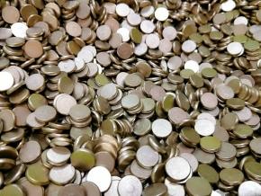 891截齿钎焊铜焊片