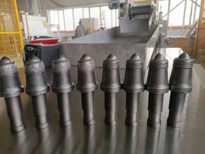贵州硬岩齿焊接热处理生产线