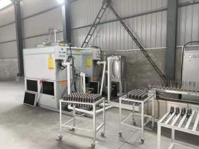 掘进机截齿焊接热处理生产线